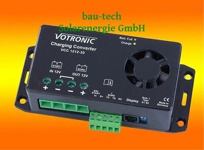 Votronic VCC 1212-30 12V zu 12V 30A Ladewandler Ladebooster 12 Booster