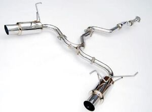Invidia 60mm N1 Dual Catback Exhaust For Scion FR-S & Subaru BRZ