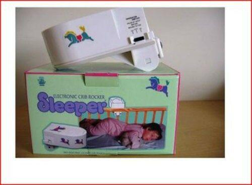 ELECTRONIC CRIB ROCKER SLEEPER FOR CRYING BABY
