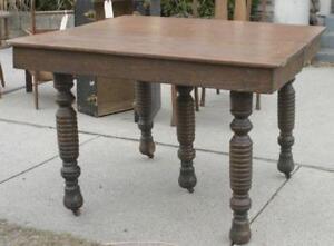 Antique Oak Leaf Table