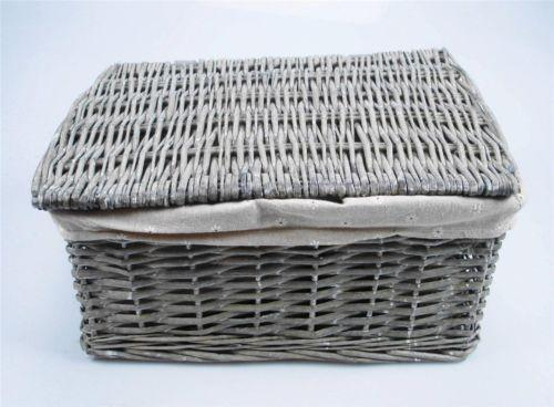 Grey Storage Baskets | EBay