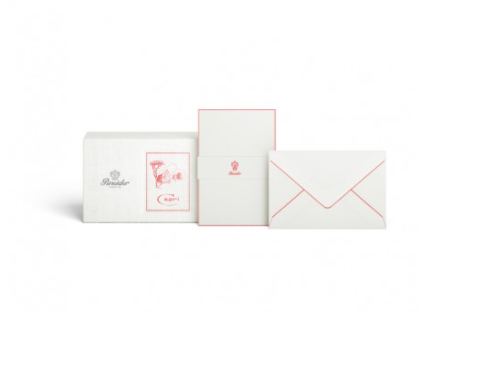 Pineider Capri Box of 12 Cards and 12 Envelopes – Form. 4 – Model CCCCB4 Greeting Cards & Invitations