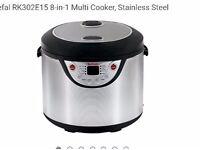 Telfel slow cooker 8 ,in 1