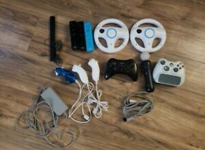 Nintendo Wii controller remotes wiimote and accessories