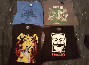6 Lootcrate Shirts L/XL New+Unworn || 1 Apron