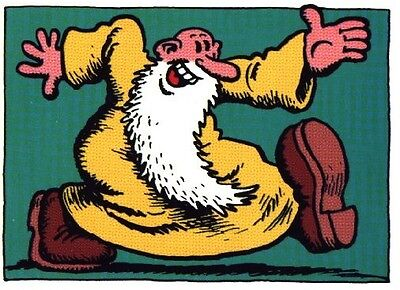 1960s R. CRUMB Mr. Natural art print replica fridge magnet - new!, used for sale  Mishawaka