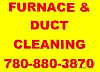 FURNACE & DUCT CLEANING - SPECIAL DEAL