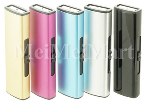 Lot of 5 USB Rechargeable Windproof Flameless Electric Lighter 06