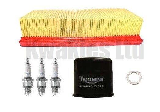 Triumph Tiger 955 2000-2006 Service Kit Genuine Filters Plugs