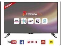 """40"""" JVC LT-40C860 4K Ultra HD Freeview HD Smart LED TV"""