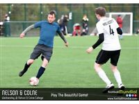 Nelson and Colne 6-a-side – Teams Needed!