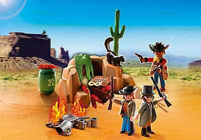 Playmobil Western 5250 Cowboys Outlaw Hideout NEW sealed
