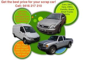 SCRAP UNWANTED DAMAGED CARS VANS UTES 4WDS WANTED CALL NOW Lansvale Liverpool Area Preview