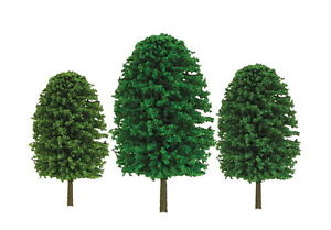 JTT-SCENERY-92033-SUPER-SCENIC-EVERGREEN-TREES-1-to-2-Z-SCALE-55-PK-JTT92033