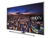 Samsung 48UE48JU7000T 4K 3D SMART LED FREEVIEW FREESAT UHD WIFI TV ..