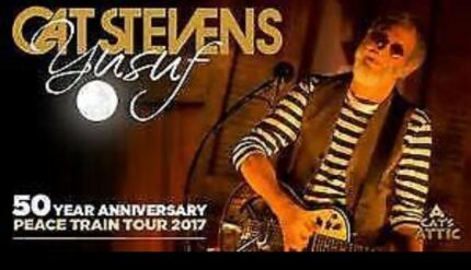 Wanted cat Stevens 2-3 tickets Sydney