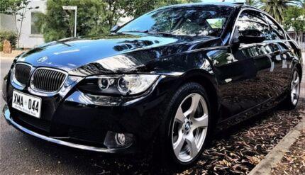 2007 BMW 323I E92 Steptronic Black 6 Speed Sports Automatic Coupe