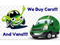 WANTED CARS 🚗AND VANS🚐 IMMEDIATELY!!💷