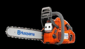 HUSQVARNA CHAINSAWS AND OTHER LAWN AND GARDEN PRODUCTS AVAILABLE
