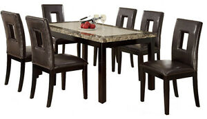 6 chair dining table set