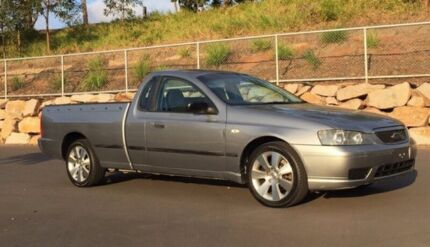 2006 Ford Falcon BF XL Ute Super Cab 2dr Spts Auto 4sp 4.0i (Flr) Silver Sports Automatic Utility