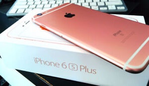 Iphone 6s plus unlocked 64 gigs Rose Gold new condition $600