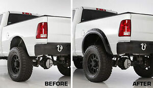 POCKET STYLE FENDER FLARES - Ford, Chev, Dodge, Toyota