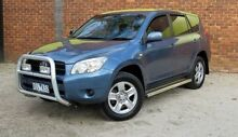 2006 Toyota RAV4 ACA33R CV Blue 5 Speed Manual Wagon Upper Ferntree Gully Knox Area Preview