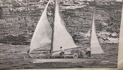 wooden yacht restoration project Katwinchar