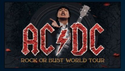 AC/DC BRIS Thu 12 Nov 2015 (Premium Pre-show Function Tickets) Brisbane Region Preview