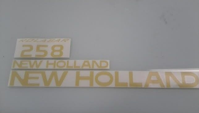 New Holland 258 Rake Decals