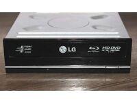 LG GGW-H20L Blu-Ray Rewriter & HD DVD