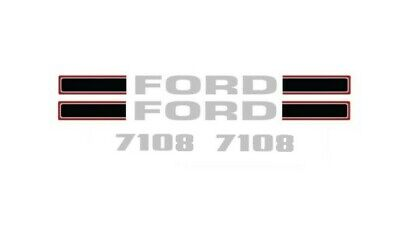 Ford Tractor Loader Decal Kit 7108 Graphics Stickers Set Emblem Lk
