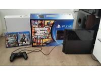 Ps4 500gig inbox 4 games swap for pit bike /field bike