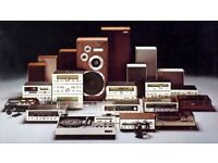 ~*~ Required - All Vintage Hifi - Stereo's - Wanted - Amplifiers - Speakers - CD Players ~*~