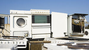Free Broken Appliance Removal, Stoves, Dryers, Washers, Fridges
