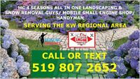 Spring is here lawn maintenance for as low as $30 per visit