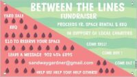 YARD SALE - FUNDRAISER - BARBECUE