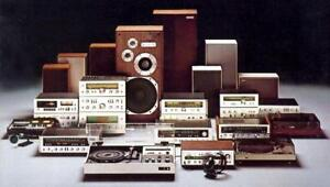 BUYING YOUR OLD STEREO EQUIPMENT/HOME AUDIO EQUIPMENT
