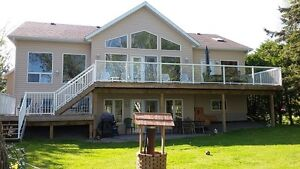 FINAL  REDUCTION FOR WEEKEND - GORGEOUS WATERFRONT, BOBCAYGEON