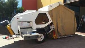 T Van Canning Off Road Camper by Track Trailer