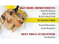 Home and Garden Renovations