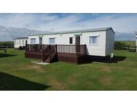 3 bed caravan, West Sands, Bunn Leisure, Selsey. Available for Selsey firework weekend from 10thOct.