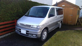 MAZDA BONGO Automatic 8-seater estate, people carrier or weekend camper for sale