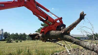 Kubota Hydraulic Mini Excavator Thumb Grapple Clamp Claw Kx71 Kx91 Kx121 U35 Cat