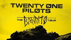 2 GA TICKETS FOR TWENTY ONE PILOTS