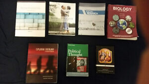 Cheap McMaster Social Science First & Second Year Textbooks!