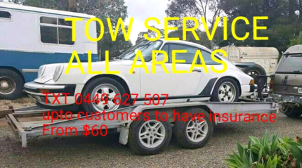 Tow service & scrap removal 7days All areas