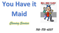 Cottage/ Home Cleaning- Weekly, Bi-weekly or occasional