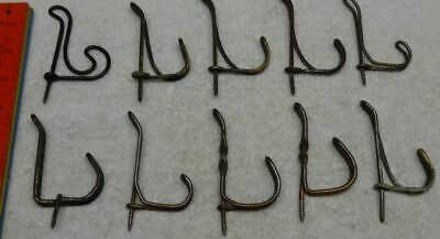 priced per each hook Coat Hook Twisted Wire Vintage//Antique